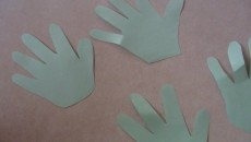 handprint leaves