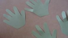 handprint leaves